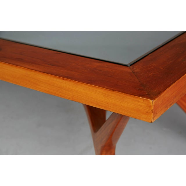 1950s Vintage Giuseppe Scapinelli Brazilian Sculptural Dining Table For Sale In Los Angeles - Image 6 of 11
