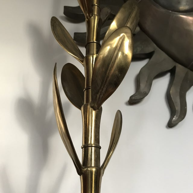 1960s Leaf Lamp by Stiffel For Sale - Image 5 of 10