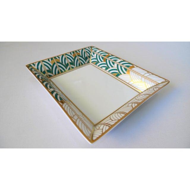 1990s Van Cleef & Arpels Bernardaud Porcelain Jewelry Dish For Sale - Image 10 of 10