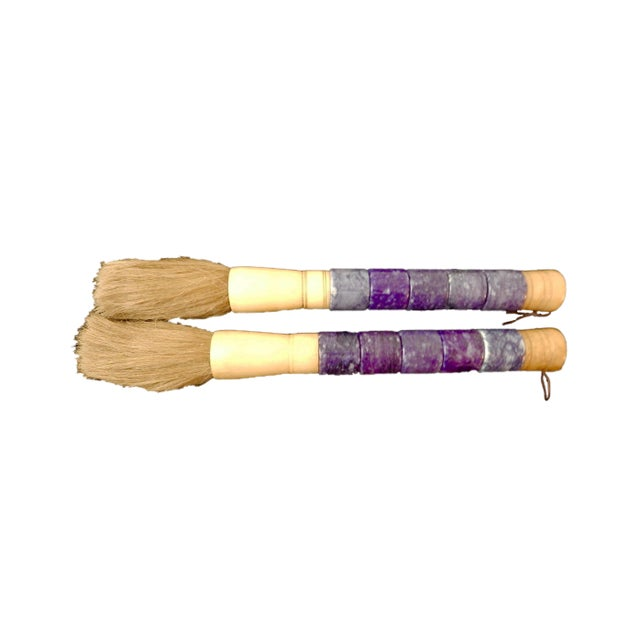 Chinese Calligraphy Brushes - A Pair - Image 5 of 5
