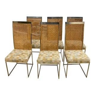 1970s Milo Baughman DIning Chairs - Set of 6 For Sale