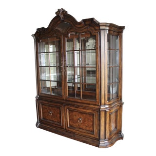 Tuscan Thomasville Hills of Tuscany China Cabinet For Sale