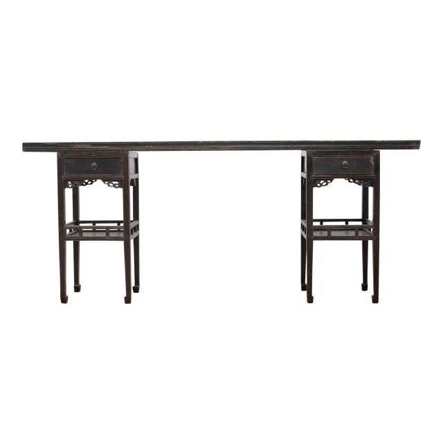 Sarreid Ltd Antique Ming Style Console Table For Sale