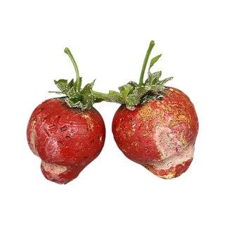 1960s Italian Alabaster Strawberries For Sale