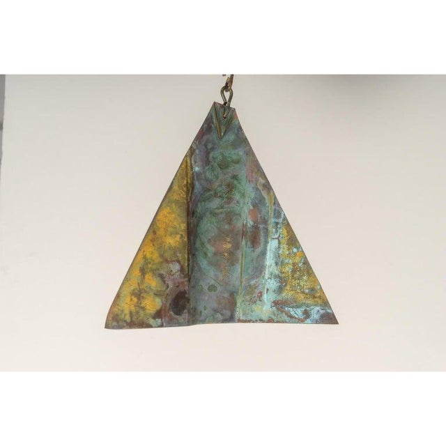 Mid-Century Modern Brutalist Bronze Wind Chime by Paolo Soleri For Sale In West Palm - Image 6 of 12