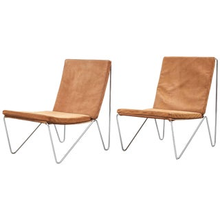 "Verner Panton for Fritz Hansen, 1955, Denmark ""Bachelor Chairs"" For Sale"