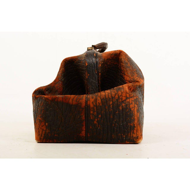 Traditional Leather Doctor's Bag For Sale - Image 3 of 10