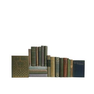 Midcentury Poetry in Spanish Moss - Set Twenty Decorative Books