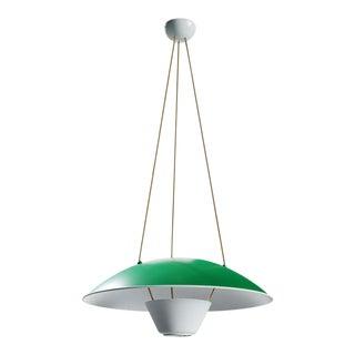 Michel Mortier M4 Suspension Lamp in Green for Disderot For Sale
