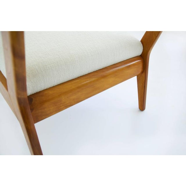 Risom Armless Lounge Chair For Sale - Image 10 of 10