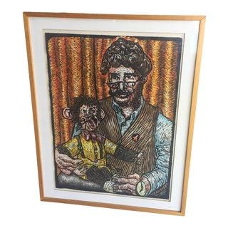 1996 Mick Sheldon Framed Print For Sale