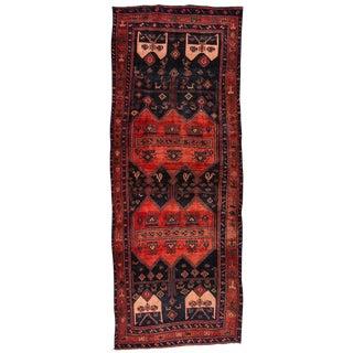 "Vintage Persian Bidjar Rug, 4'6"" X 12'"