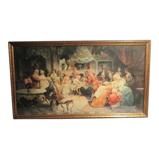 "Victorian ""Musical Quintet"" Framed Print by Jerry Barrett For Sale"
