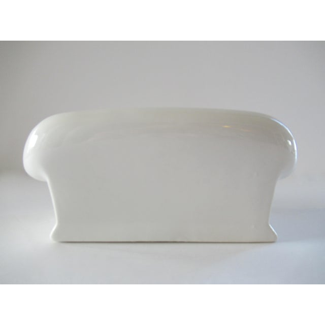Vintage Donghia for Toscany Ceramic Sofa Keepsake Box For Sale - Image 10 of 13