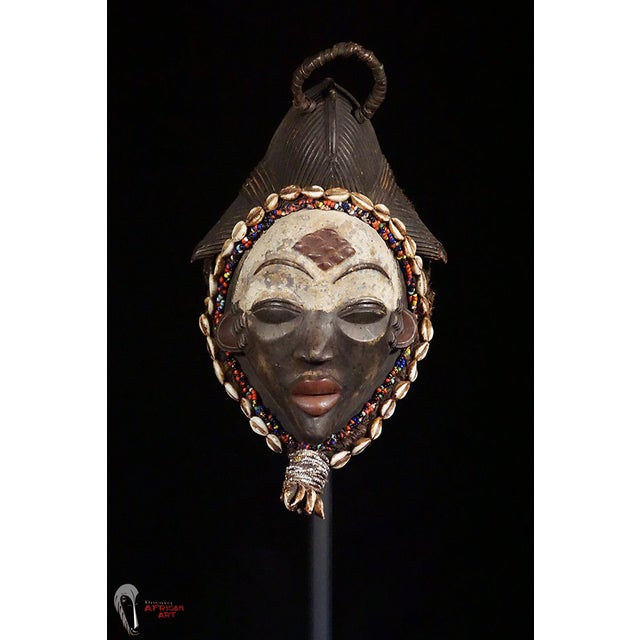 Punu African Tribal Mask - Image 3 of 10