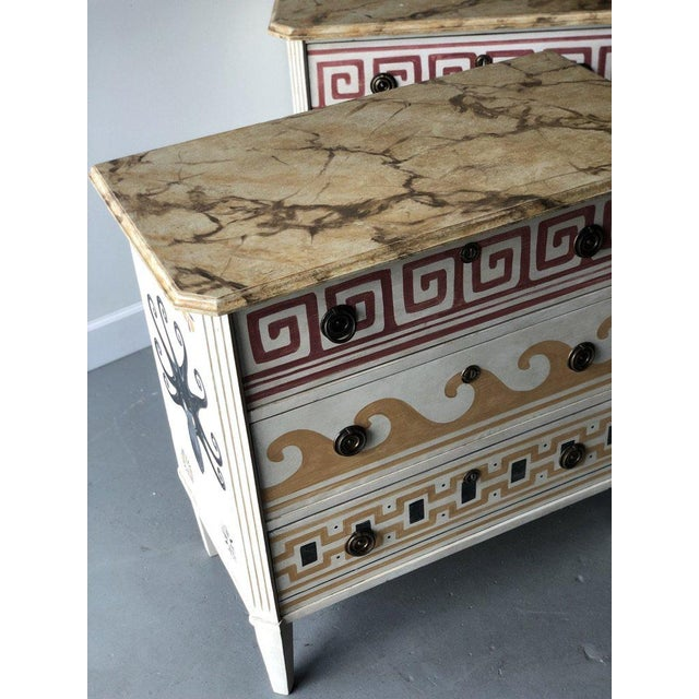 Pair of Villa Kerylos Chests For Sale - Image 9 of 10