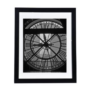 """d'Orsay Clock"" Framed Original Photograph For Sale"