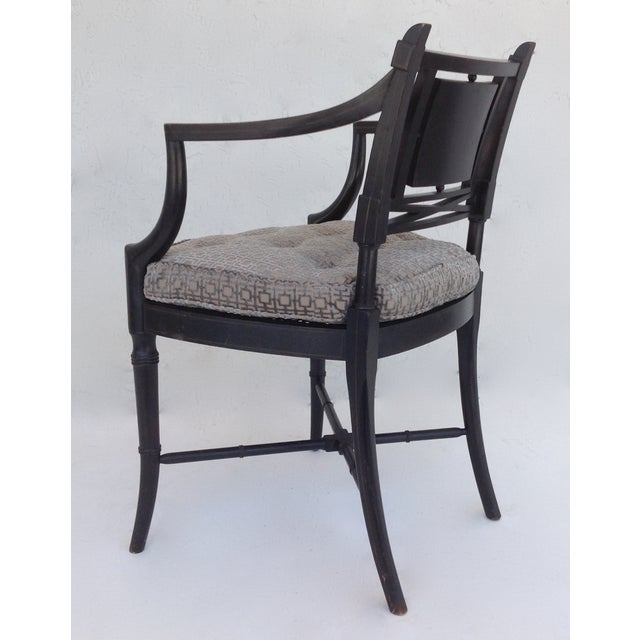 Maison Jansen Hand-Painted Regency Chair - Image 7 of 11