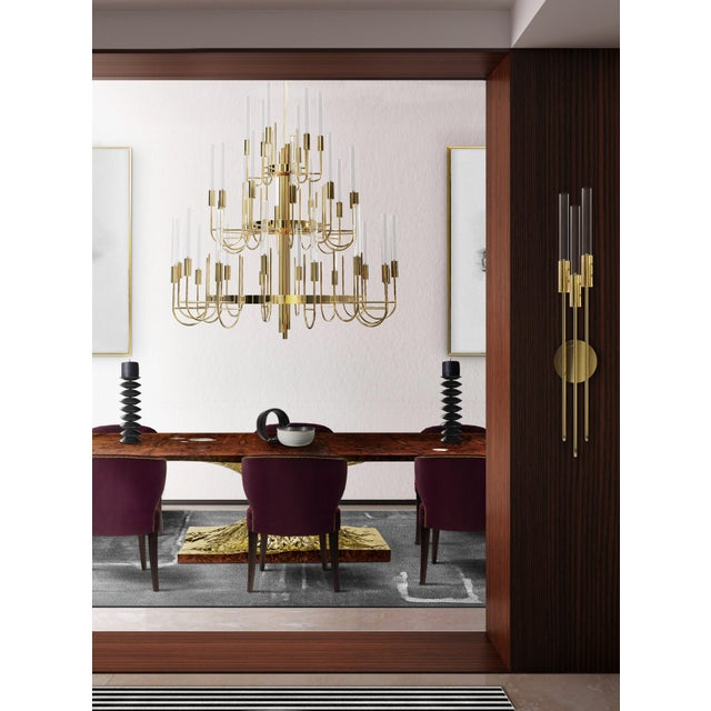 Designed from the soft blend of emotional yet beautiful lines the Gala Suspension is the perfect outcome of brass and...