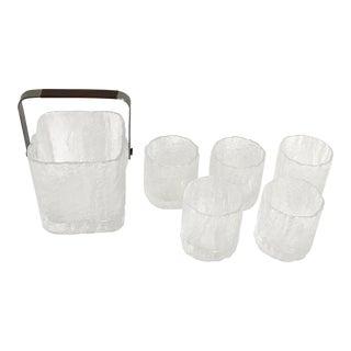Hoya Ice Bucket & Glasses - Set of 6