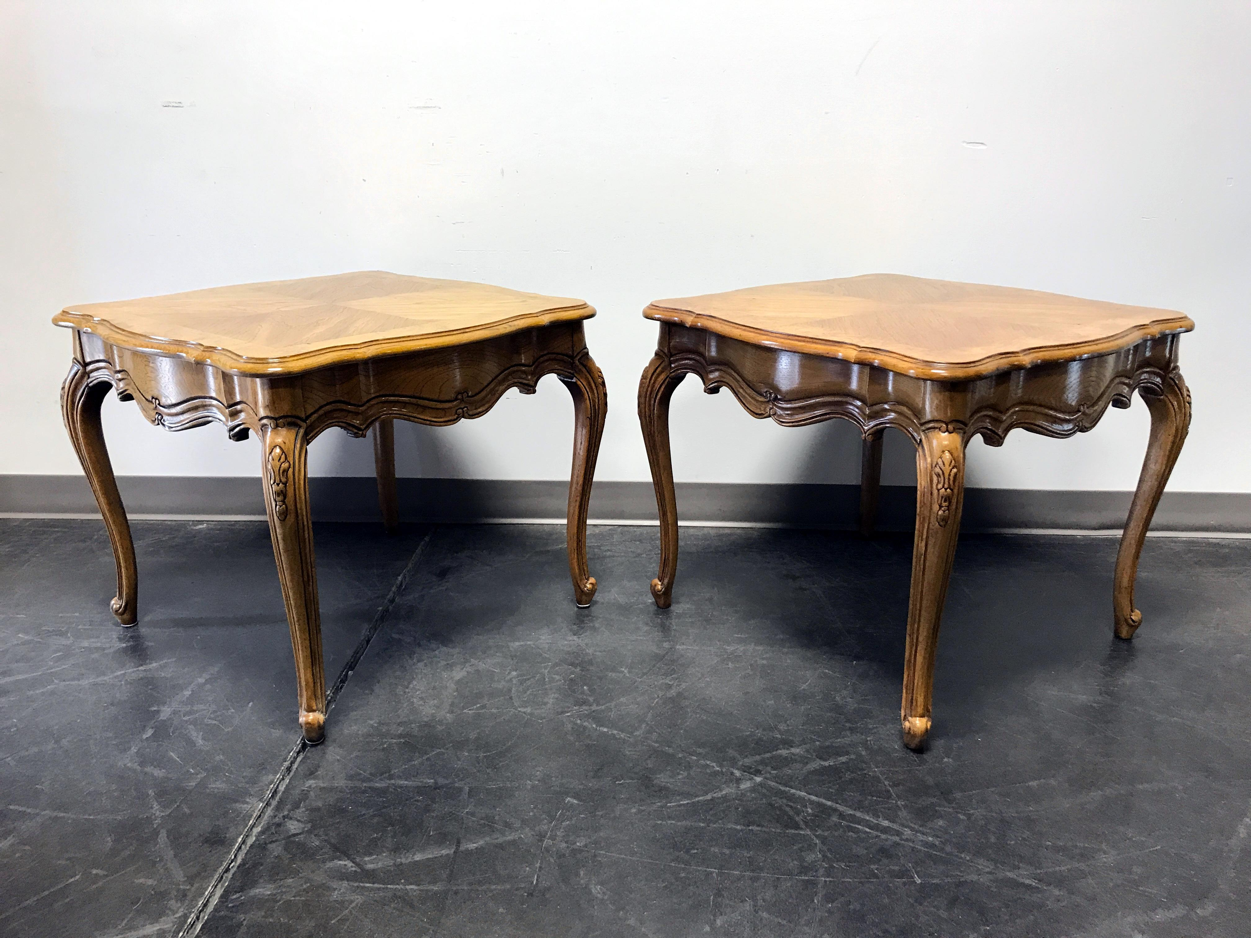Here Is A Pair Of French Country Style Lamp Tables From High Quality  Furniture Maker