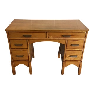 Early Heywood-Wakefield Style Desk For Sale