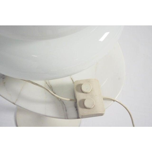 Vistosi Hand-Blown Murano Glass 'Mushroom' Floor Lamp For Sale In New York - Image 6 of 6