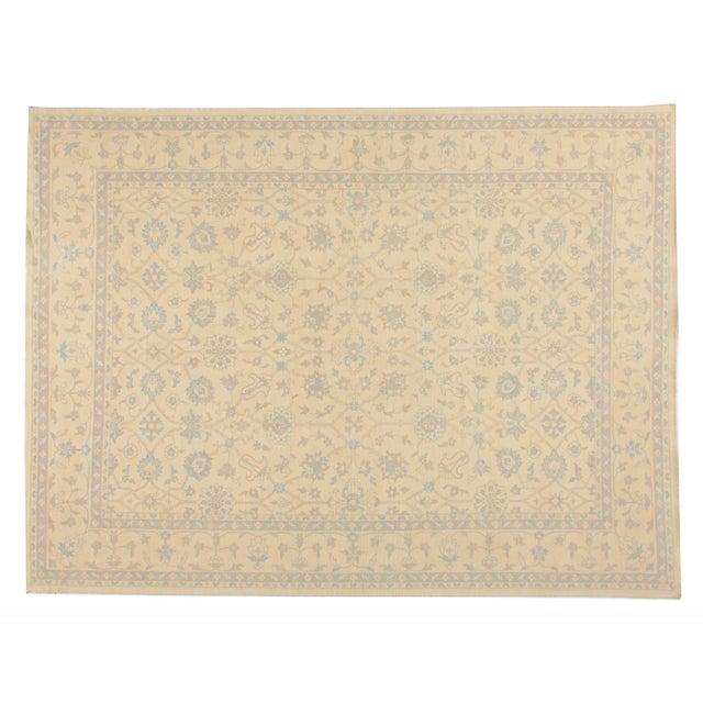 Stark Studio Rugs Traditional New Oriental Oushak Wool Rug - 9′2″ × 12′2″ For Sale