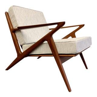 Mid Century Modern Teak Lounge Chair / Armchair For Sale