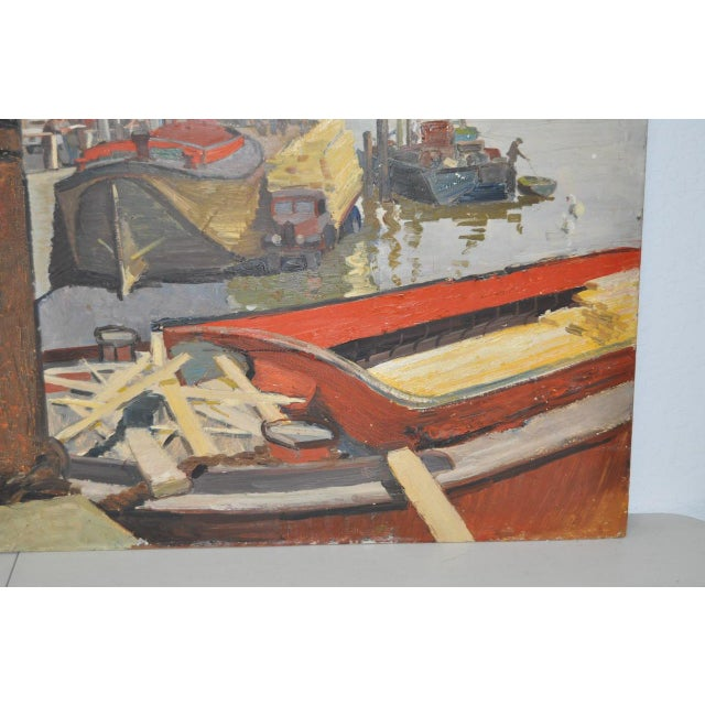 Aileen Rose Dent Original Oil Painting For Sale In San Francisco - Image 6 of 8