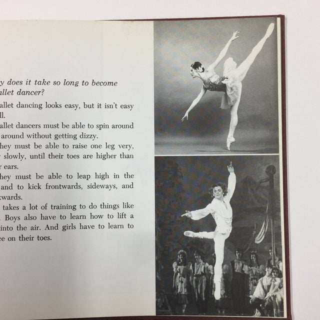 Red 1979 If You Were a Ballet Dancer Book For Sale - Image 8 of 9
