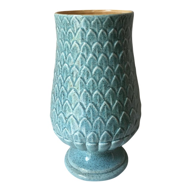 Red Wing Mid Century Vase For Sale