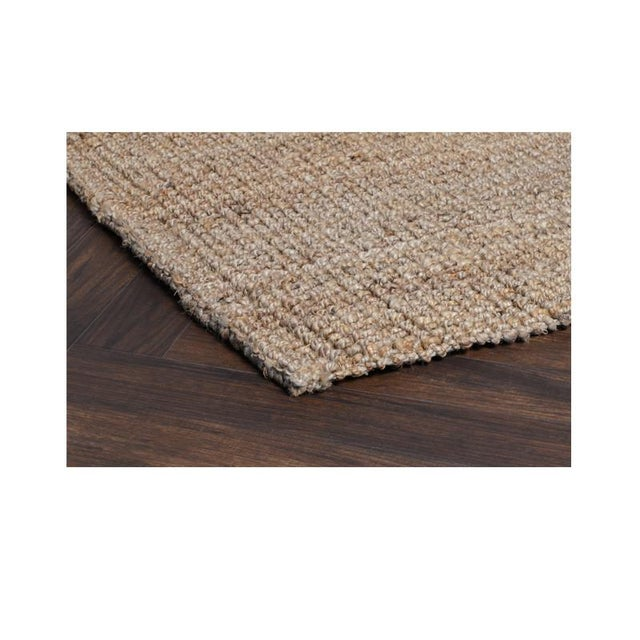 A thick boucle weave gives our Chunky Loop 100% jute rug its name, highlighting the gorgeous natural details of the jute...