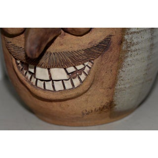 Hand Made Ceramic Caricature Flower Pot by Rogers Preview