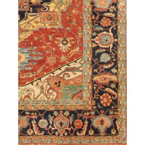 "Pasargad Serapi Collection Rug - 4' x 5'10"" - Image 2 of 2"
