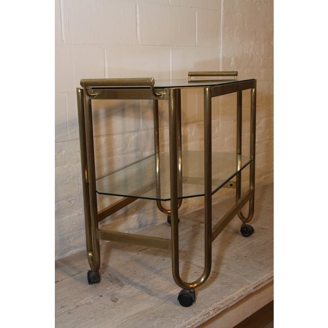 French French 1940s Bar Cart For Sale - Image 3 of 4