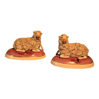 English Staffordshire Sheep - a Pair For Sale