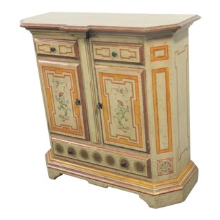 Schulz & Behrle Italian Style Console Cabinet For Sale