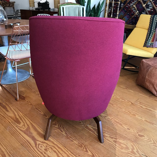 Mid-Century Modern Gus Modern Hillary Chair For Sale - Image 3 of 6