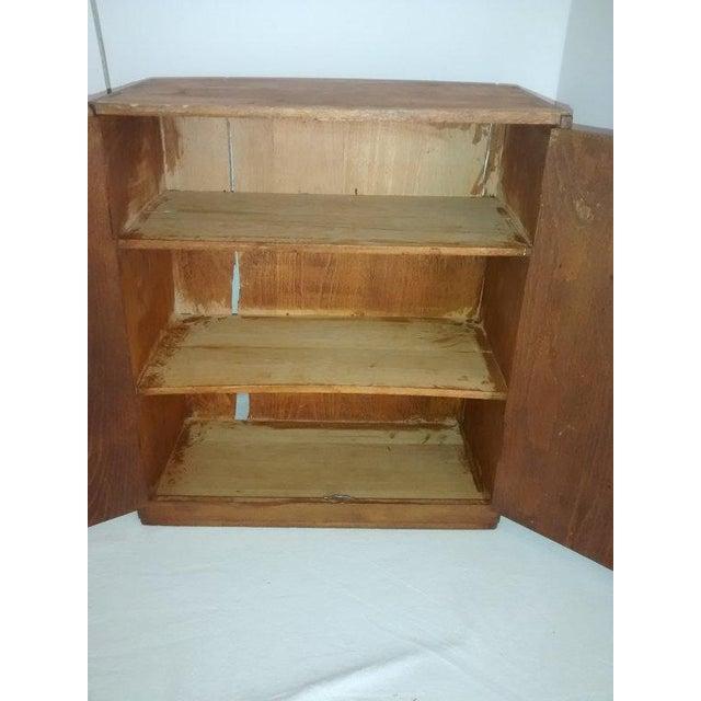 Primitive New England Antique Cabinet Shaker Style - Image 2 of 5