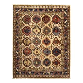 """One-of-a-Kind Traditional Hand-Knotted Area Rug 8' 0"""" x 10' 2"""" For Sale"""
