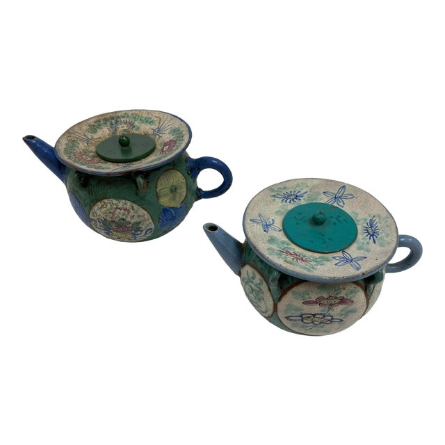 Antique Chinese Oil Jars - a Pair For Sale