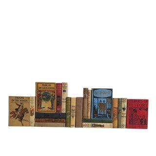 Stories for Boys - Set of Twenty Decorative Books