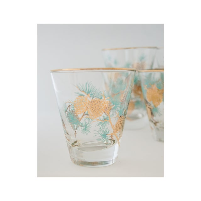 Set of 6 Pinecone Juice Glass by David Douglas for Libbey - Image 3 of 6