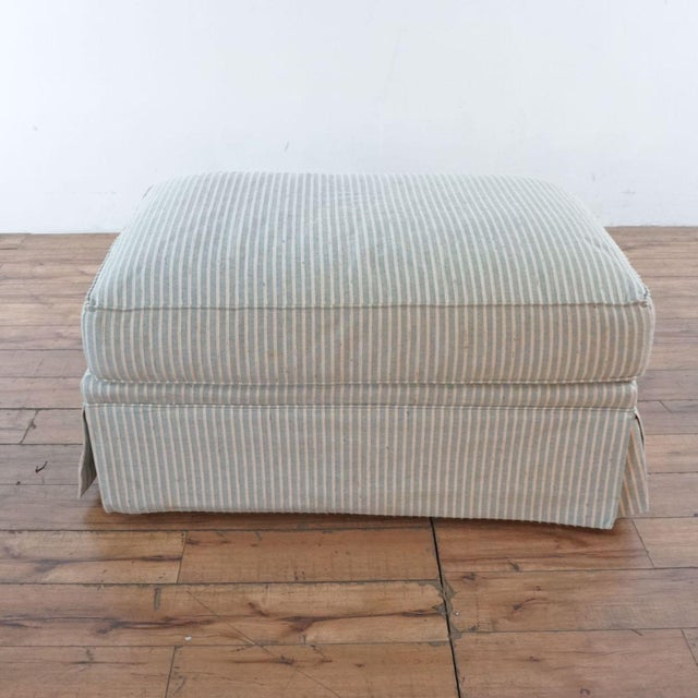 Textile Michael Thomas Armchairs and Ottoman- 3 Pieces For Sale - Image 7 of 13