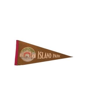 Island Park Casino Felt Flag For Sale