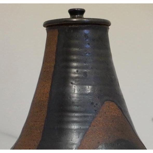 Vintage Studio Pottery Vessel For Sale - Image 4 of 7
