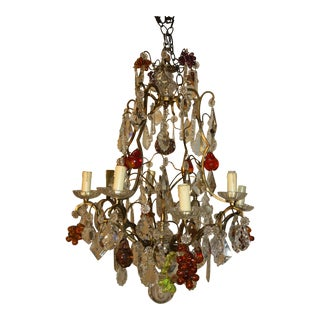 Early 20th Century French Louis XV Chandelier For Sale