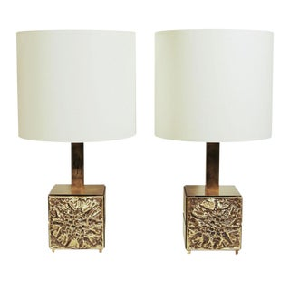 Luciano Frigerio Table Lamps - A Pair For Sale
