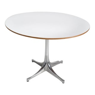 Mid Century Modern George Nelson Round Accent Swag Leg Table for Herman Miller For Sale